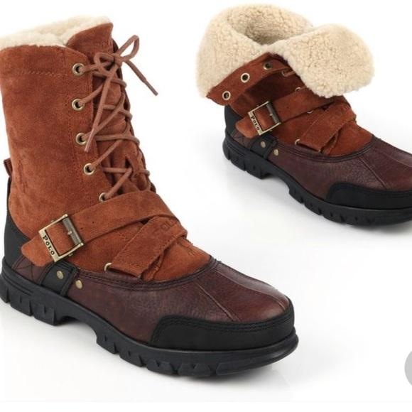 Polo Ralph Lauren Boots Rollover Tavin